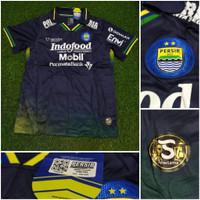 Jersey Kaos Baju Sepak Bola Persib Bandung Away 3rd Hitam 2020 2021