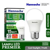 Hannochs Lampu LED Premier 15 watt CDL - Putih - SNI