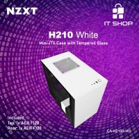 NZXT Casing Gaming H210 White Matte