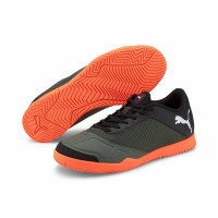 Sepatu Futsal PUMA 365 FUTSAL 2 Thyme-Black-Shocking Orange 106223 01