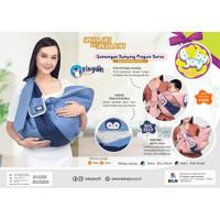 BABY JOY BJG 2019 GENDONGAN SAMPING PENGUIN SERIES - Merah Muda