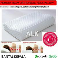 Bantal Tidur Kesehatan Leher Kepala Memory foam Orthopedic Pillow