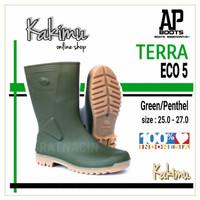 SEPATU BOOT MURAH AP BOOTS TERRA ECO 5 GREEN/PENTHEL