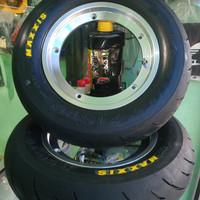 Paket Ban Maxxis + Velg V Rossi R10 Tublles