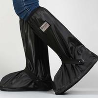 Cover Sarung Sepatu Anti Air Pelindung Hujan Motor Dengan Reflektor
