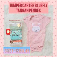baju bayi jumper carter pendek 12bulan - 8, 9-12