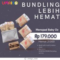 Paket Pembalut Kain / Menstrual Pad Baby Oz (2 nite 3 day)
