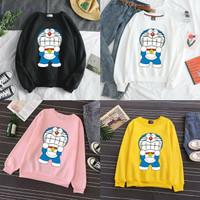Kaos Lengan Panjang Anak Tanggung Doraemon Marah 10-15THN / Baju Anak