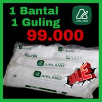Bantal silikon AIRLAND / Silicone fibre pillow