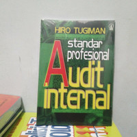 buku standar profesional audit internal oleh Hiro Tugiman