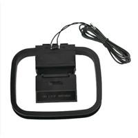 Sistem Penerima Sinyal Audio Radio Fm Am Loop Antena Indoor Rumah