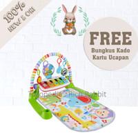 ELC Fisher Price Deluxe Kick N Play Piano / Playmat Mainan Bayi