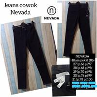 celana jeans nevada pria stretch original