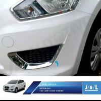cover foglamp/ring foglamp chrome Datsun go jsl