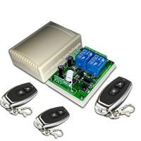 Wireless Relay 2chanel 433mhz Universal Remot Control autogate