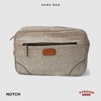 Pouch Clutch Kanvas Hand Bag Handbag / Fashion Pria Tas Kecil Ipad