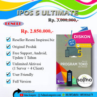 Program Toko iPos 5 Edisi Ultimate (Dongle)