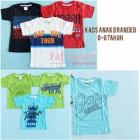 1-8 Tahun Kaos Anak Laki Laki Branded - Baju Atasan Anak Laki Laki