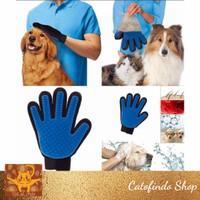 sarung tangan grooming kucing anjing