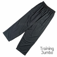 Celana Panjang Training Pria Jumbo Polos Baby Terry