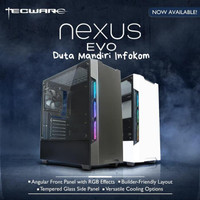 Tecware Nexus EVO Black - Tempered Glass Mid Tower ATX Case