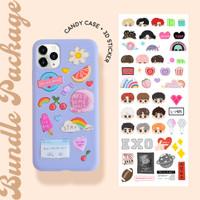 BUNDLE SET - Candy Case + 3D Sticker