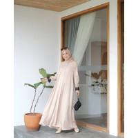 Abaya lace - Peanut