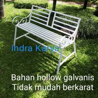 Kursi teras / kursi taman bahan besi harga murah