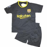 setelan baju bola anak/barca hitam/barca b/barca maron/jersey terbaru