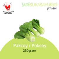 Pakcoy pokcoy segar 250gram - sayuran segar bekasi