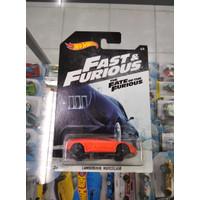 Diecast Hot Wheels Fast and Furious the Fate Lamborghini Murcielago HW