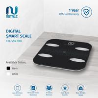 Notale Timbangan Badan Digital Smart Weight Scale with APPS ALT Xiaomi - Hitam