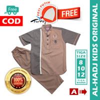 Baju Koko Anak AL-HADJ KIDS Stelan Koko Anak Usia 8-10-12 Tahun