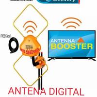 Antena Tv TOYOSAKI AIO-200 Digital Antena DVB, Full HD, Smart chip.