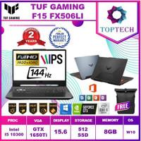 ASUS TUF F15 FX506LI - i5 10300 8GB 512ssd GTX1650TI 4GB W10