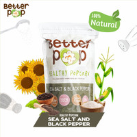 BetterPop Sea Salt & Black Pepper Popcorn Single Pack
