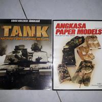 Buku Koleksi Angkasa Tank dan Paper Models
