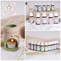 Paket Tungku & 2 Aromatherapy & 4 Lilin