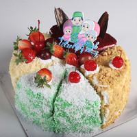 Mixed Cake / Kue Lebaran / Klepon - Nastar - Red Velvet - Lapis Keju
