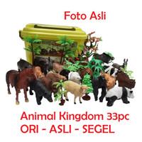 Mainan Edukasi Anak Animal Kingdom Hewan Liar Pertanian Montessori