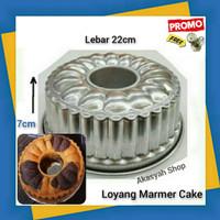 Loyang Marmer Cake 22cm Kue Bolu