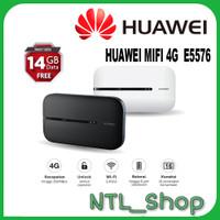 MODEM WIFI MIFI 5576 HUAWEI 4G LTE FREE 14GB TELKOMSEL UNLOCKED