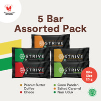 Strive Bite Size Mix 1 Box isi 5pcs