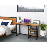 Cubicle Desk/Meja Kerja Kantor Minimalist Modern Kayu Asli/Solid Wood