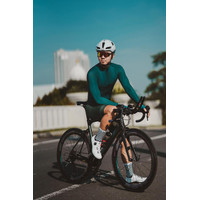 Baju Sepeda Cycling Jersey Cowok/Cewek/Unisex Pro basic - emerald