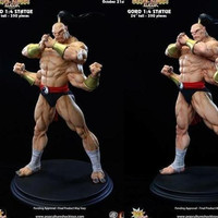 Goro Pop Culture Shock Statue Rare/350 Not Hot Toys Mortal Kombat Aya