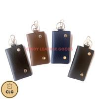 Dompet STNK kunci motor dan mobil synthetic leather.