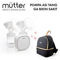 Mutter Krystal Pompa Asi Elektrik + Mutter Mae Cooler Bag Bundling