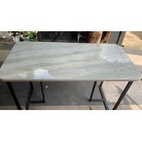 Meja Makan Meja Kantor Meja Belajar Grey Granit Marmer