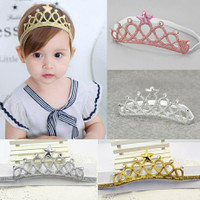 Bandana Bando Mahkota Anak Headband Crown Bayi